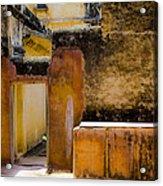 Amber Fort Acrylic Print