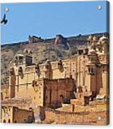 Amber Fort View - Jaipur India Acrylic Print