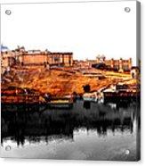 Amber Palace - Jaipur- Viator's Agonism Acrylic Print