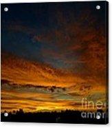 Amber Skys Six Acrylic Print