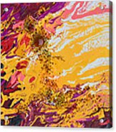 Amber Sun Acrylic Print