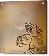Amber Vision Acrylic Print by Bedros Awak