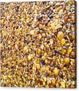 Amber World Acrylic Print