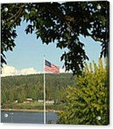 Ameican Flag Acrylic Print