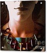 Amelia Portrait Acrylic Print