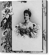 Amelie Of Portugal (1865-1951) Acrylic Print
