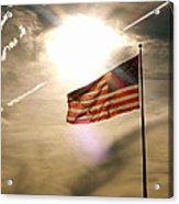 America Acrylic Print by Paul Foutz