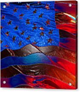 America Rising Acrylic Print