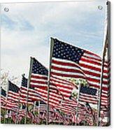 America Salute Acrylic Print