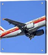 American Airbus A319-112 N742ps Psa Legacy Phoenix Sky Harbor December 24 2014  Acrylic Print