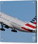 American Airlines 777-300 Acrylic Print