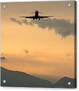 American Airlines Approach Acrylic Print