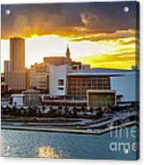 American Airlines Arena Acrylic Print