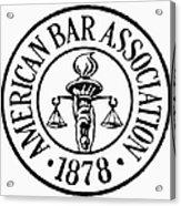 American Bar Association Acrylic Print