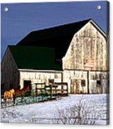 American Barn Acrylic Print