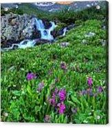 American  Basin Waterfall Acrylic Print