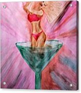American Beauty Martini Acrylic Print