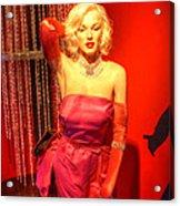 American Cinema Icons - Norma Jean Acrylic Print