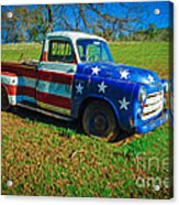American Classic Acrylic Print