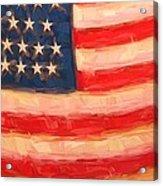 American Colours Acrylic Print