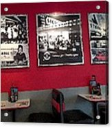 American Diner Acrylic Print