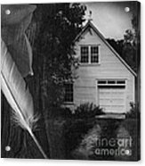 American Dream IIi Square Acrylic Print
