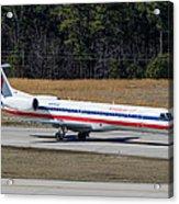 American Eagle ERJ-145LR Acrylic Print
