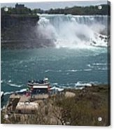 American Falls From Above The Maid Acrylic Print