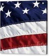 American Flag Acrylic Print by Jill Lang