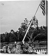 American Flag Monument Acrylic Print