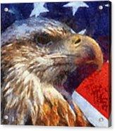 American Flag Photo Art 04 Acrylic Print