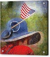 American Flag Photo Art 06 Acrylic Print