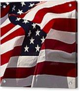 American Flags   #5147 Acrylic Print