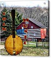 American Folk Music Acrylic Print