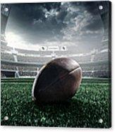 American Football Ball Acrylic Print