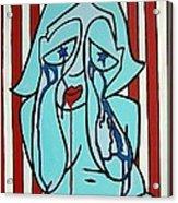 American Girl Acrylic Print
