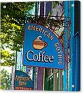 American Gothic Coffee Acrylic Print