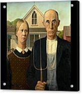 American Gothic Duvet Acrylic Print