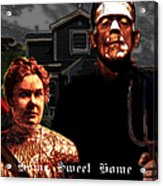 American Gothic Resurrection Home Sweet Home 20130715 Square Acrylic Print