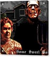 American Gothic Resurrection Home Sweet Home 20130715 Acrylic Print
