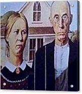 American Gothic Acrylic Print