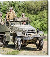 American Half Track Acrylic Print by Trevor Wintle