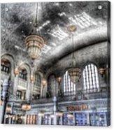 American Haunting Union Station Denver Colorado Acrylic Print