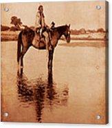 American Indian Chief Cheyenne Acrylic Print