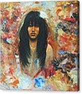 American Indian Maiden Acrylic Print