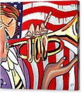American Jazz Man Acrylic Print