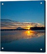 American Lake Sunrise Acrylic Print