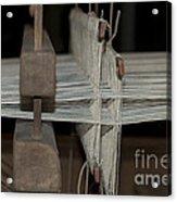 American Loom 3 Of 3 Acrylic Print