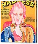 American Madness, Background, Kay Acrylic Print