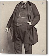 American Man, 1860s Acrylic Print